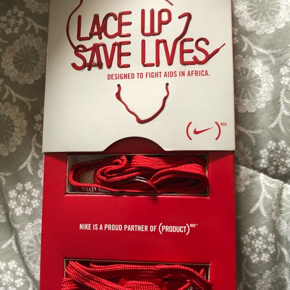 Nike Shoes | Lace Up Save Lives Aids